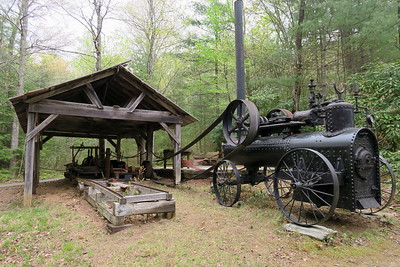 Forest Festival Trail -- Portable Sawmill