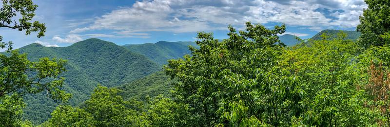 Green Mountain Trail (Lower Overlook) -- 4,280'