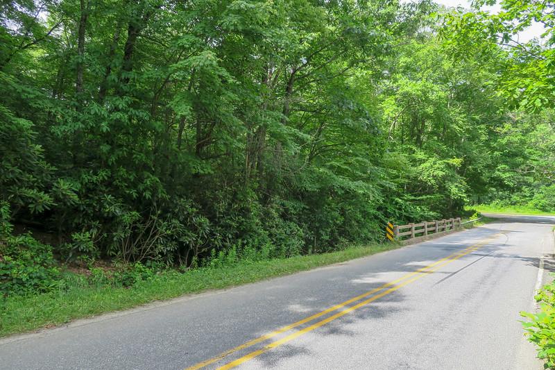 Sunburst/NC-215 (Green Mountain) Trailhead -- 3,100'