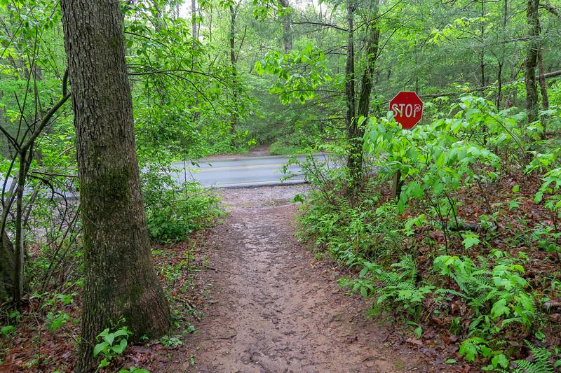 Hardtimes Connector Trail (F.R. 481 Crossing) -- 2,130'