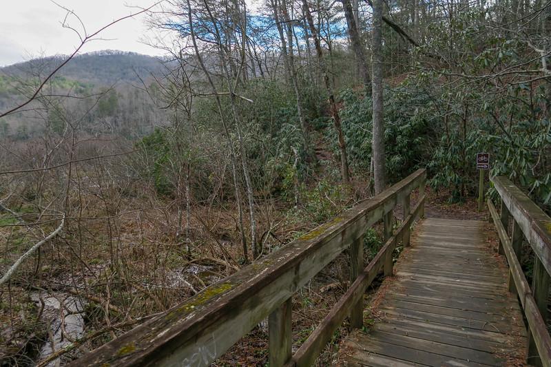Homestead/Deerfield Loop Trail Junction