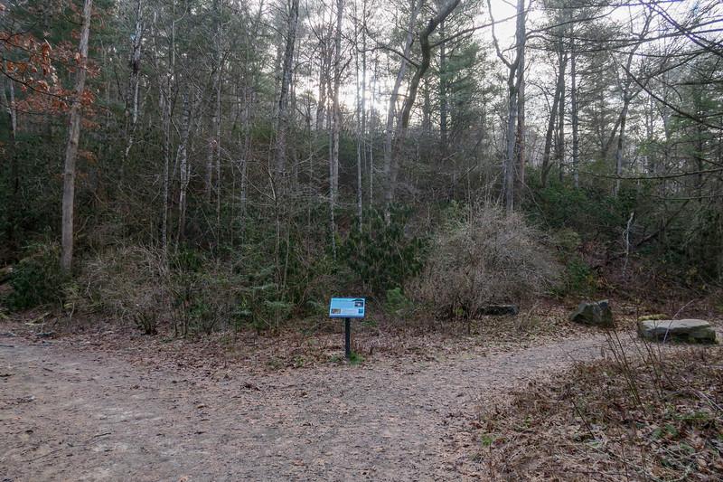 Homestead Trail/Hardtimes Road Junction
