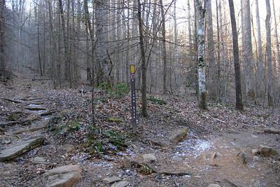 John Rock/Cat Gap Loop Trail Lower Junction -- 2,600'