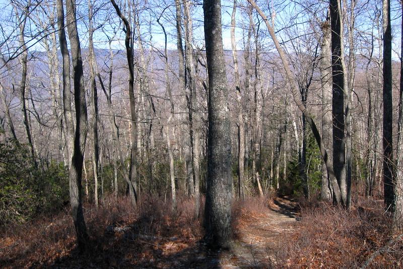 John Rock Trail -- 3,240'