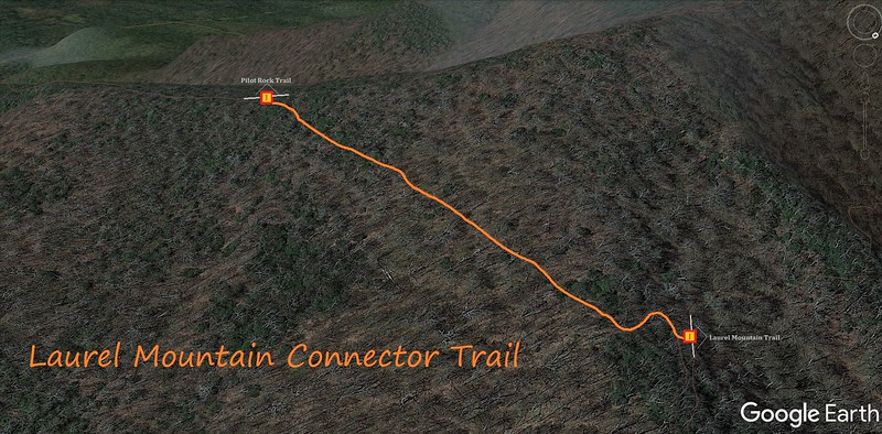 Laurel Mountain Connector Trail Map