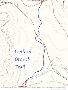 Ledford Branch Trail Map