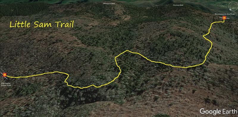 Little Sam Trail Map