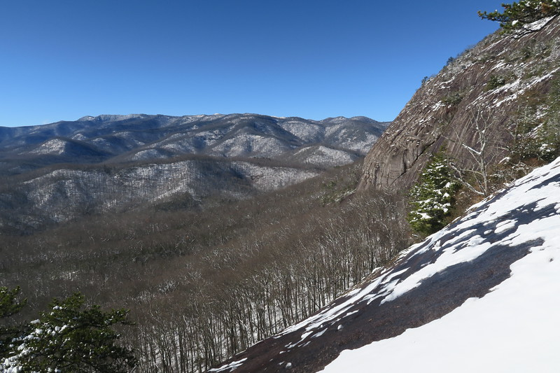 Looking Glass Rock -- West Face -- 3,480'