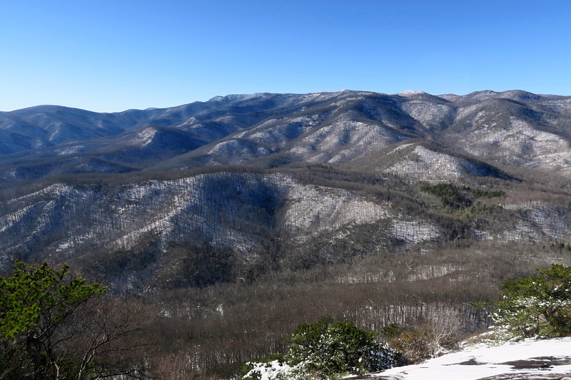 Looking Glass Rock -- North Face -- 3,880'