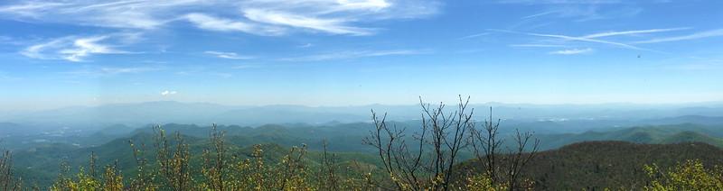 Mount Pisgah Summit -- 5,721'