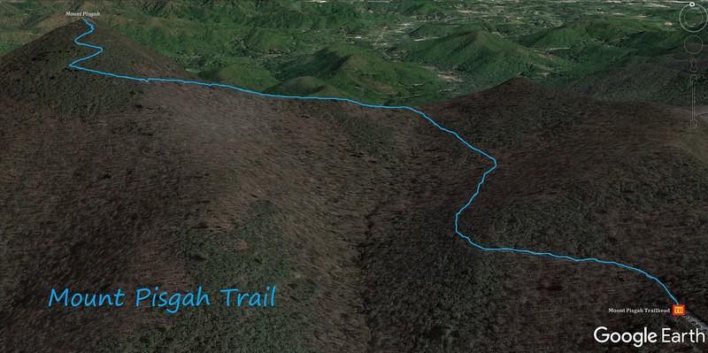 Mount Pisgah Trail Map