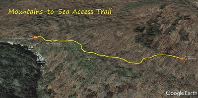 Mountains-to-Sea Access Trail Map