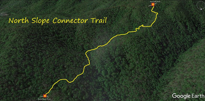 North Slope Connector Trail Map