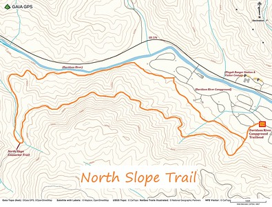 North Slope Trail Map