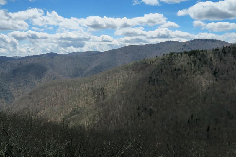 Old Butt Knob Trail (Upper Ledge Overlook) -- 5,440'