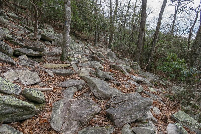 Pilot Rock Extension Trail -- 3,750'