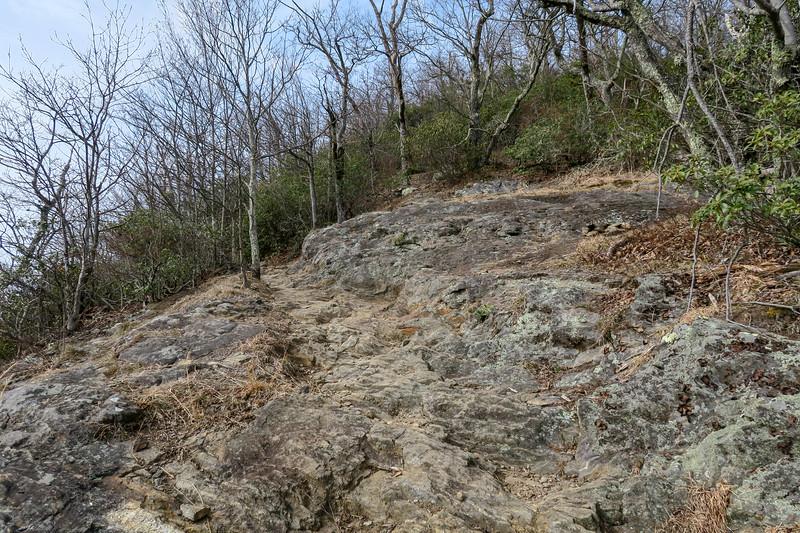 Pilot Rock Trail -- 4,400'