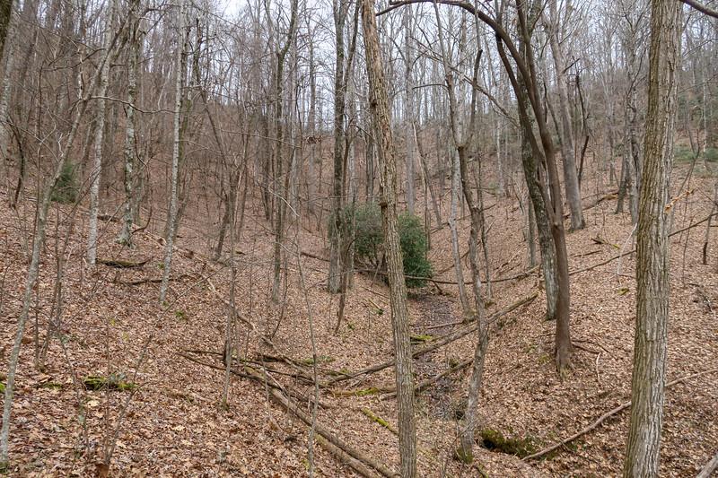 Poundingmill Trail -- 2,980'