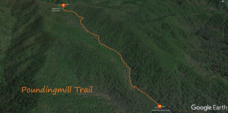 Poundingmill Trail Map