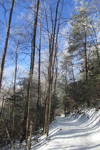 Rainbow Falls Trail -- 2,750'