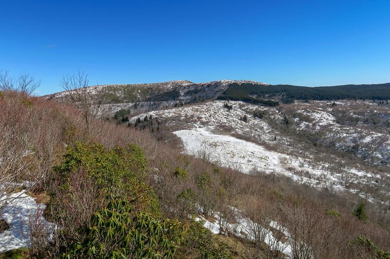 Sam Knob Summit Trail -- 5,930'