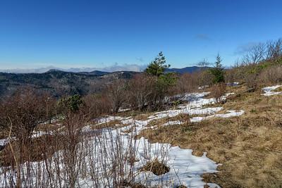 Sam Knob Summit Trail (North Summit) -- 6,030'