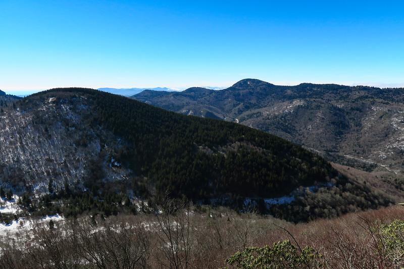 Sam Knob Summit Trail -- 5,940'