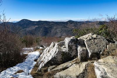 Sam Knob Summit Trail (North Summit) -- 6,040'