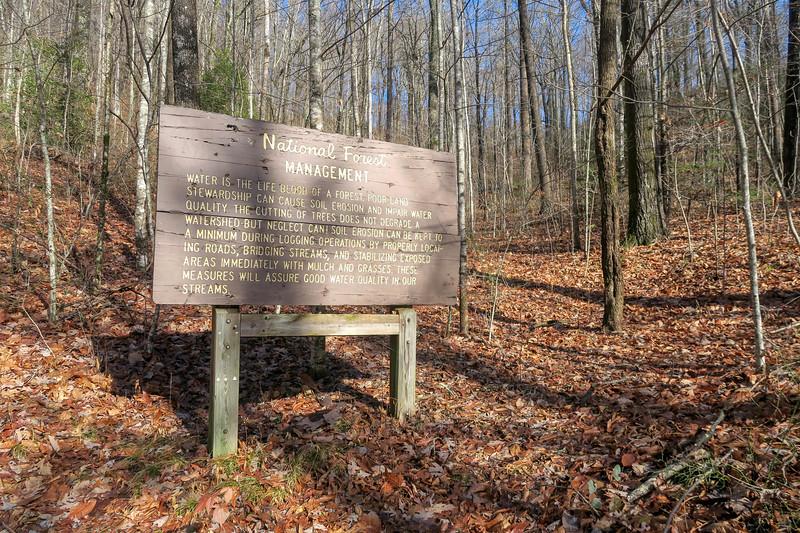 Seniard Ridge Trail @ F.R. 475B -- 3,200'