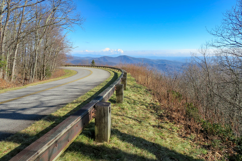 Seniard Ridge Trail @ Blue Ridge Parkway -- 4,680'