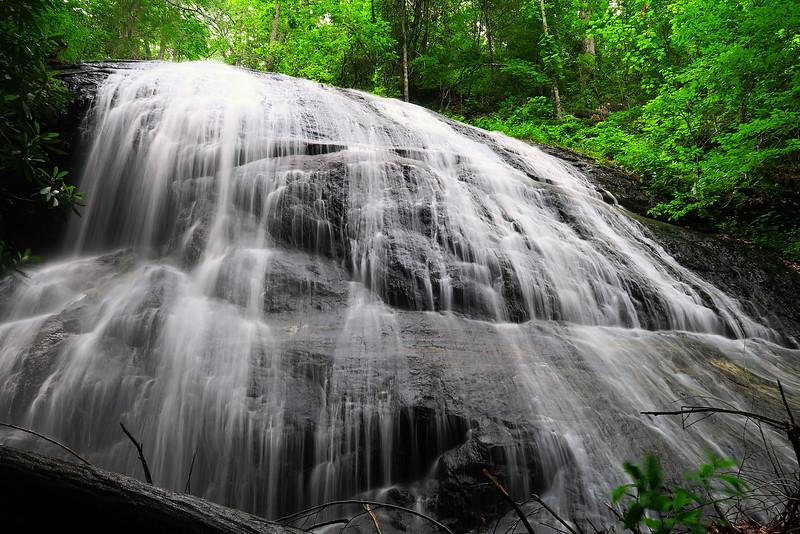 Upper Log Hollow Falls -- 3,300'