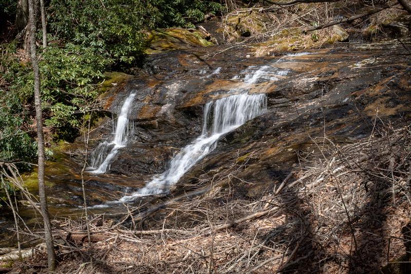 Shining Creek Trail -- 4,650'