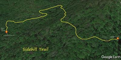 Sidehill Trail Map