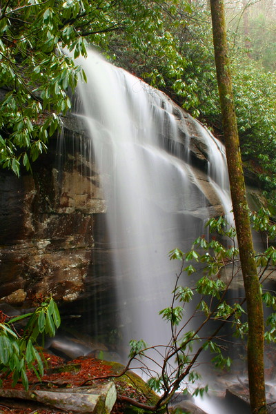 Slick Rock Falls -- 2,680'