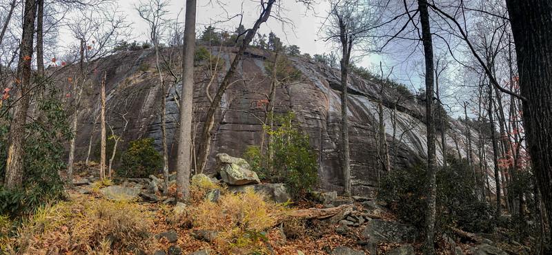 Slick Rock Falls Trail -- 3,280'