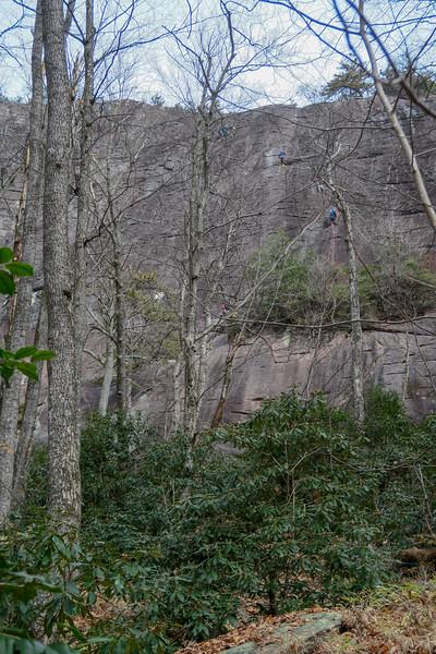 Slick Rock Falls Trail -- 3,230'