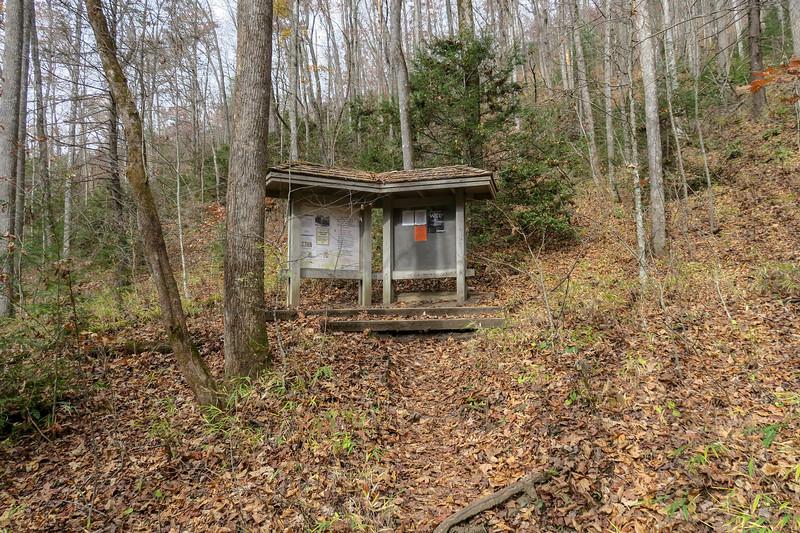 Slick Rock Falls Trail -- 2,660'