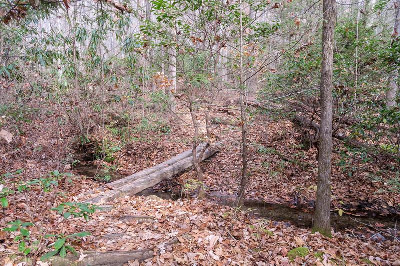 Slick Rock Falls Trail -- 2,940'