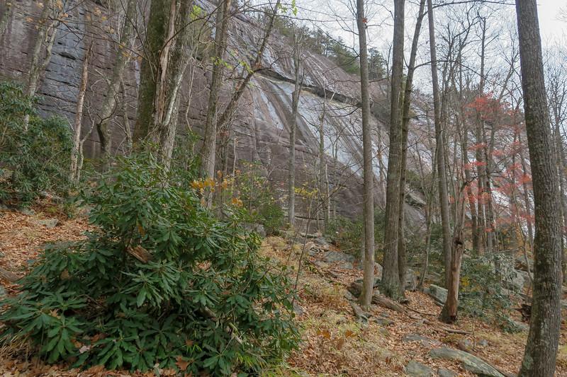 Slick Rock Falls Trail -- 3,250'
