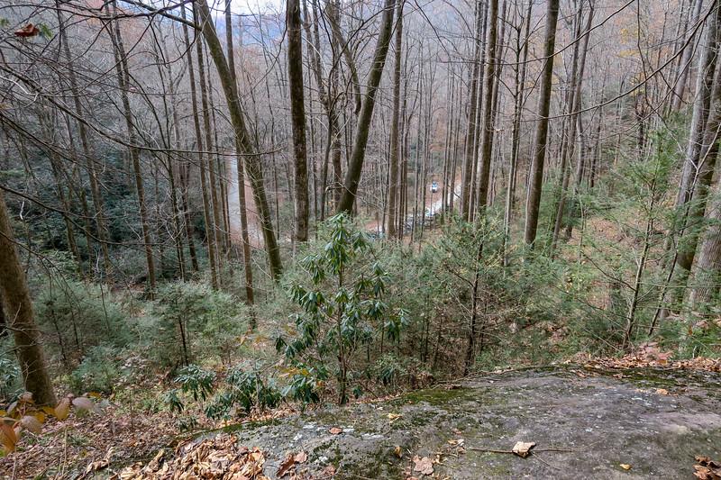 Slick Rock Falls Trail -- 2,740'