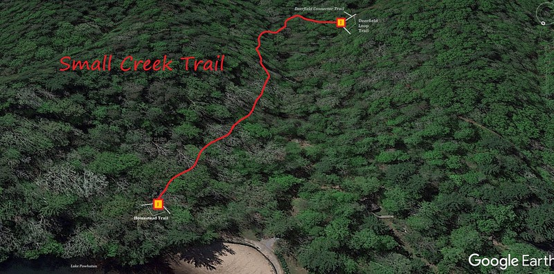 Small Creek Trail Map