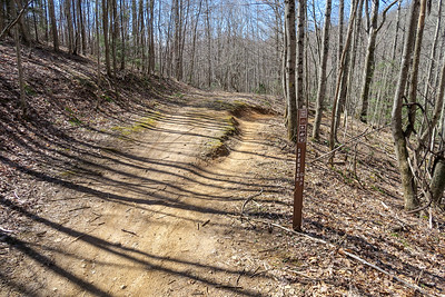 Spencer Branch Trail -- 2,820'
