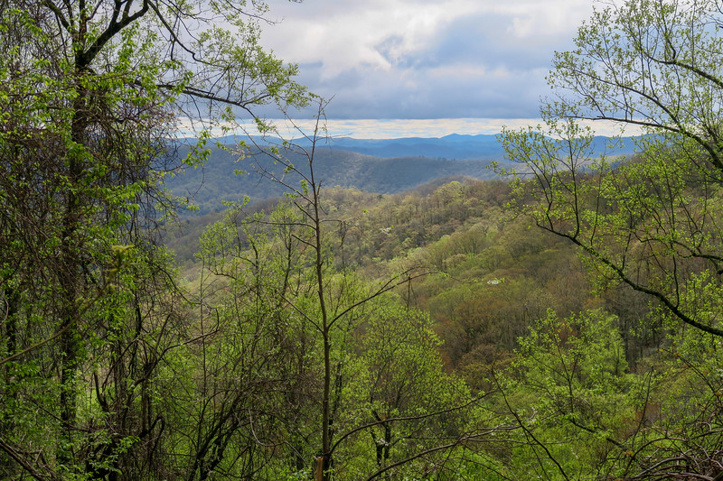 Squirrel Gap Trail -- 3,360'