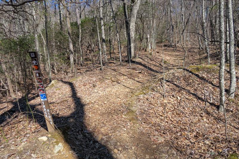 Trace Ridge Trail -- 3,450'