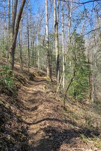 Trace Ridge Trail -- 2,290'