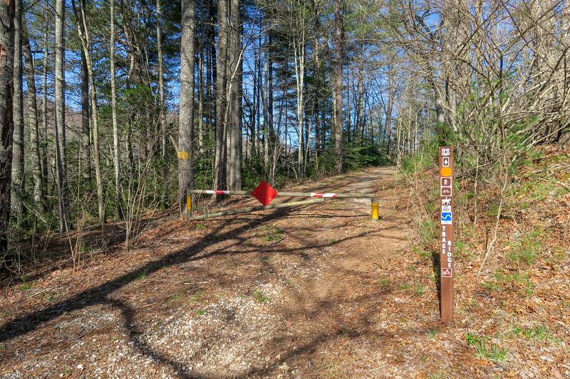 Trace Ridge Trail @ Trace Ridge Trailhead -- 2,550'