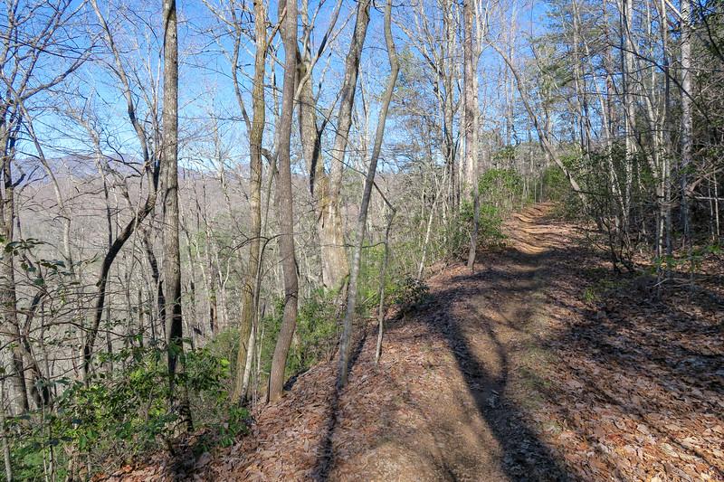 Trace Ridge Trail -- 2,840'