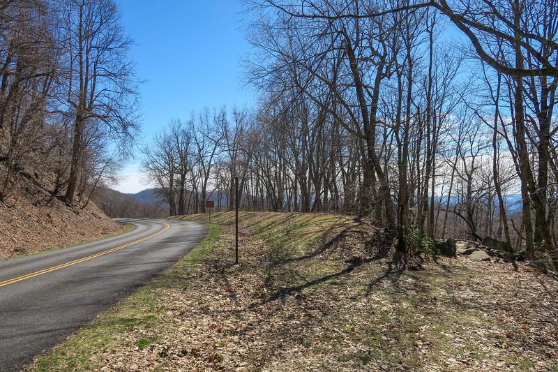 Trace Ridge Trail @ Blue Ridge Parkway -- 3,600'