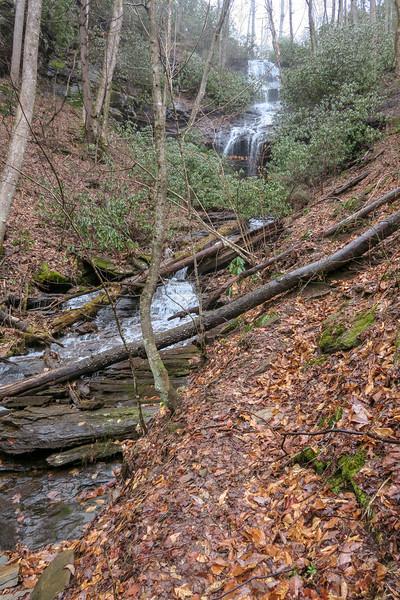 Twin Falls (Henry Branch) -- 2,860'
