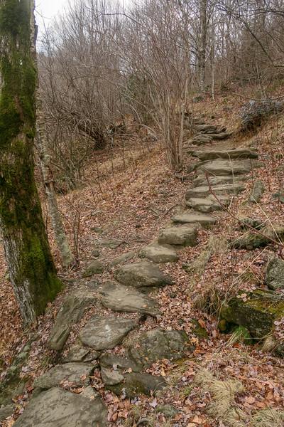 Upper Falls Trail -- 5,200'